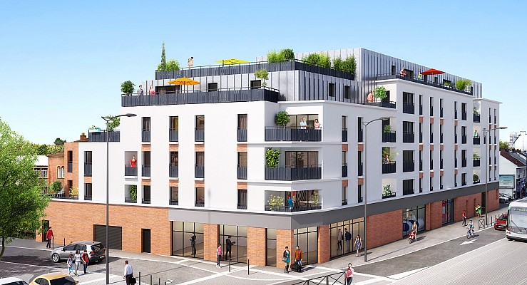 appartement - Esplanade Sainte-Thérèse - Nantes